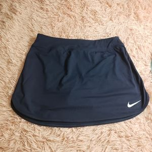 Nike dri-fit running skort size S navy blue